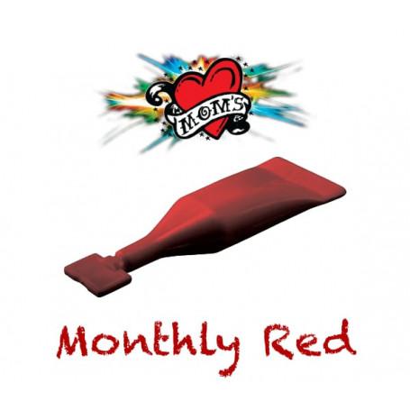MOMS MILLENNIUM MONTHLY RED INK SHOT 2ML TETOVACÍ BARVA INKOUST