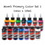 14x15ML MOMS MILLENNIUM PRIMARY COLOR SET 1
