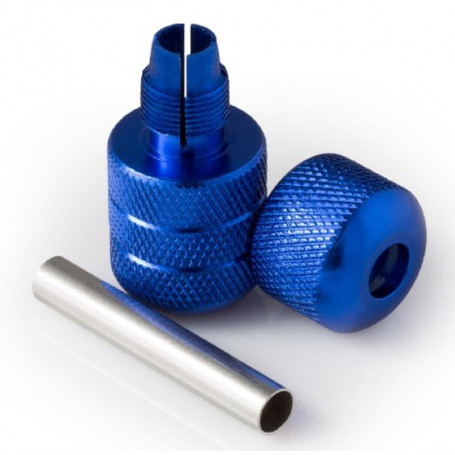 ALU GRIP AUTO-LOCK BLUE 25mm