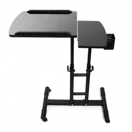 Pracovní stůl se dvěmi deskami na barvy a nástroje