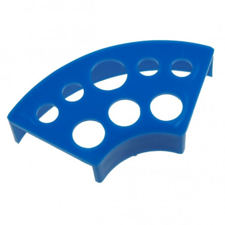 Stojánek na kalíšky plast modrý