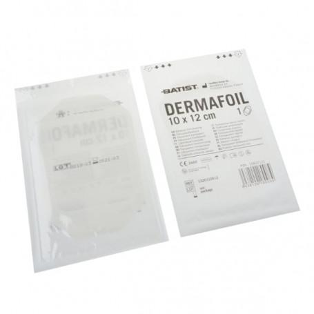 Dermafoil 10x12cm sterilní ochranný film fóliový obvaz po tetování