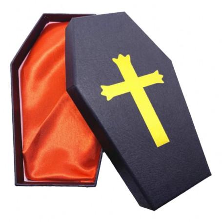 Krabička pro tetovací strojek Coffin Yellow